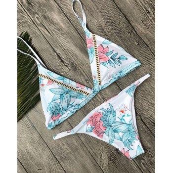 Polyester Seersucker R�schen Sexy Bikini