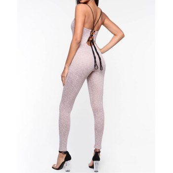 Tether Backless Active Jumpsuit
