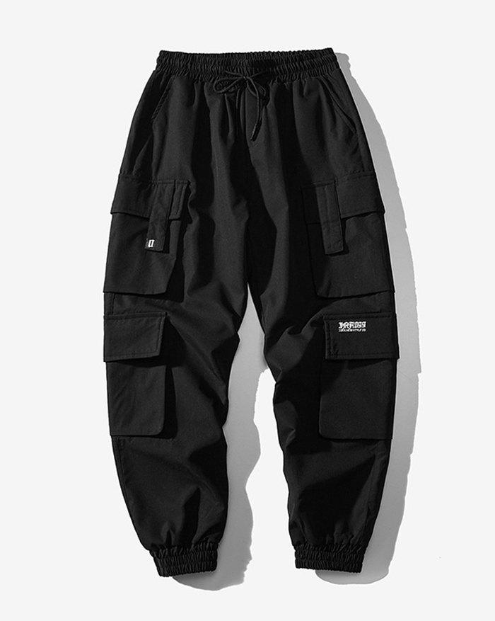 Men's Sandstone Cargo Pants - Black 4XL