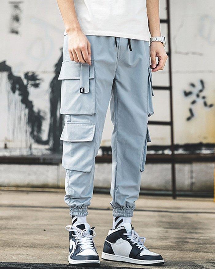 Men's Sandstone Cargo Pants - Blue 4XL