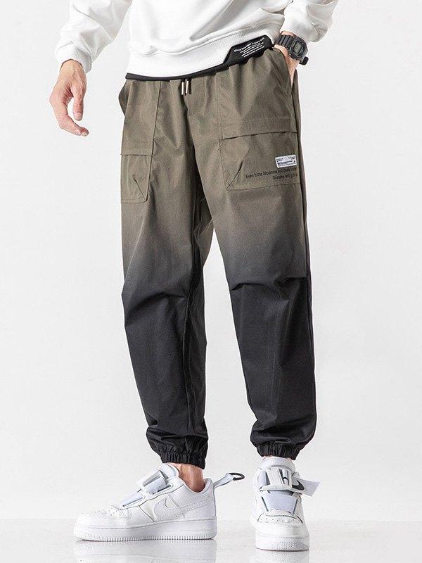 Men's Ombre Jogger Pants - Chive XL