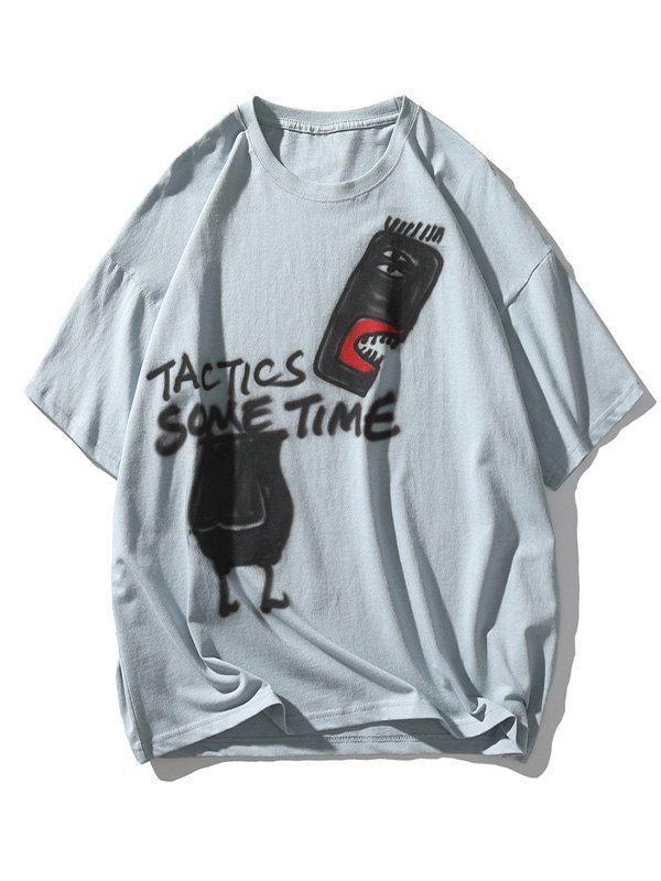 Men's Tactic Sometime Painted Tee - Blue 2XL