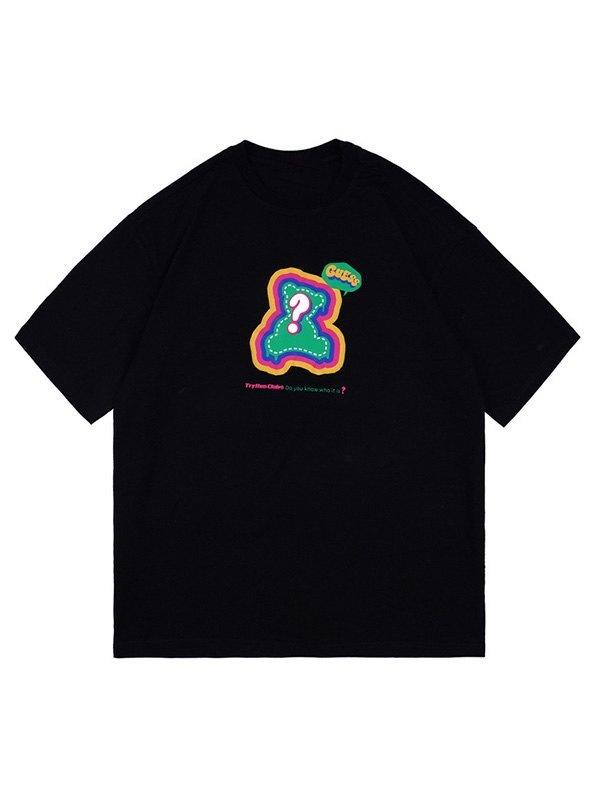 Men's Bear Graphic Short Sleeve Tee - Black M