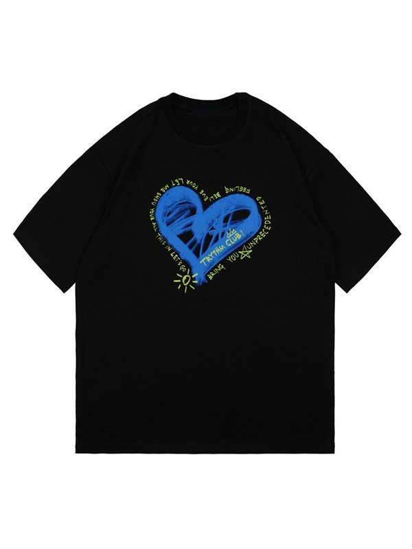 Men's Unprecedent Love Graphic Tee - Black XL