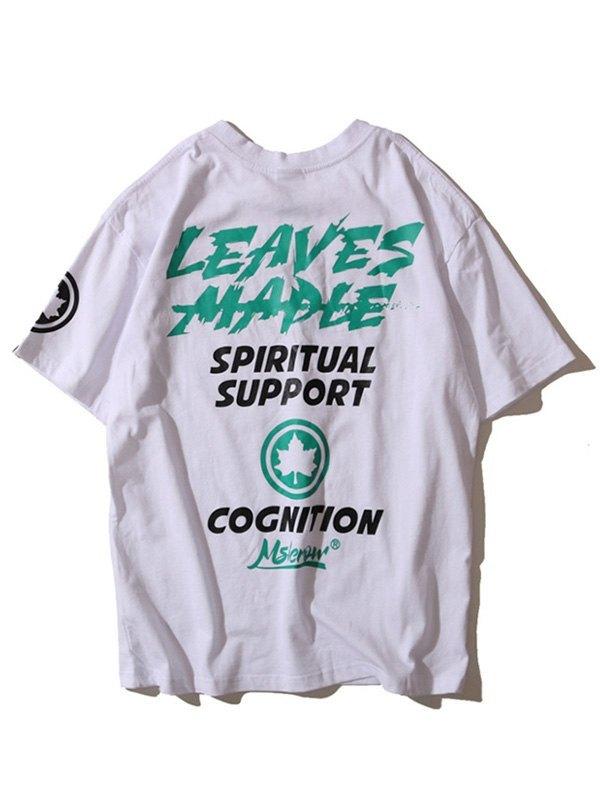Men's Spiritual Support Graphic Tee - White L