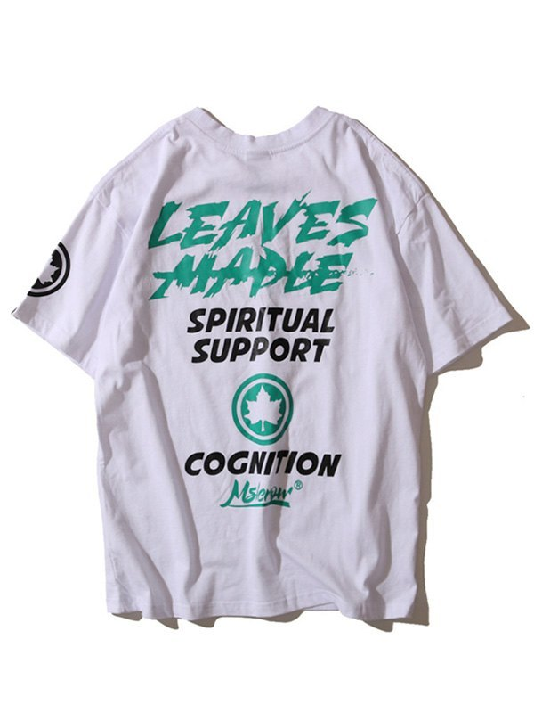 Men's Spiritual Support Graphic Tee - White XL