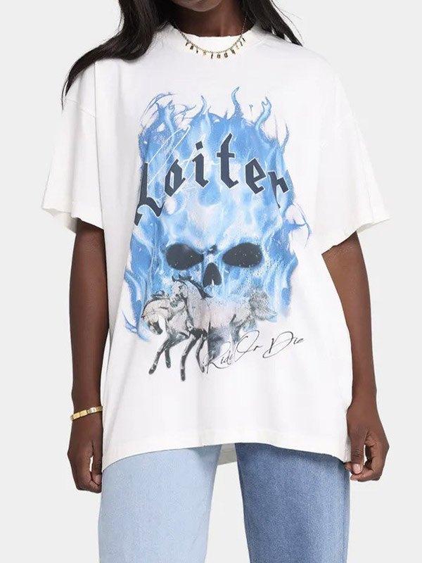 Loiter Ghost Short Sleeve Tee -