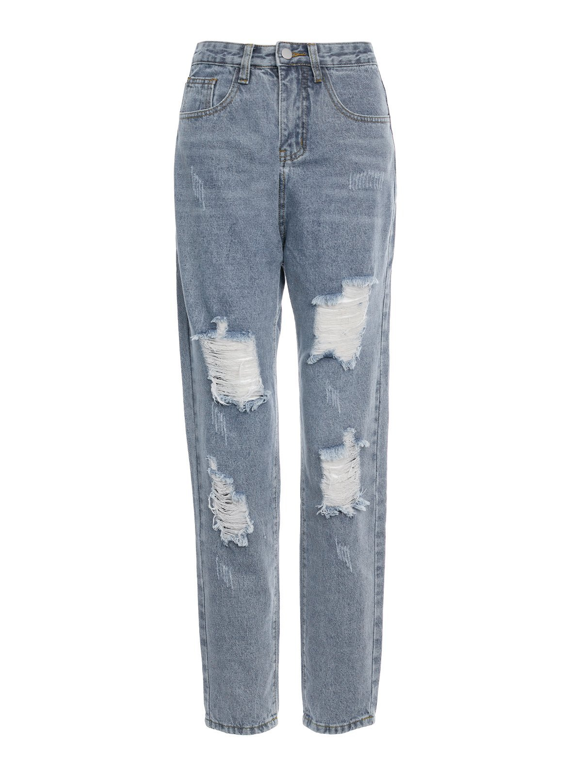 Vintage Distressed Ripped Jeans -