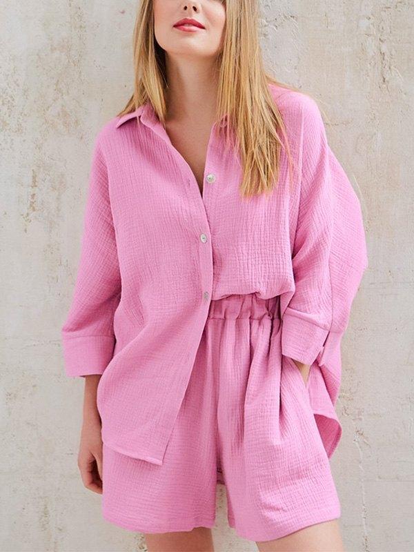 Cozy Cotton Two Piece Set -