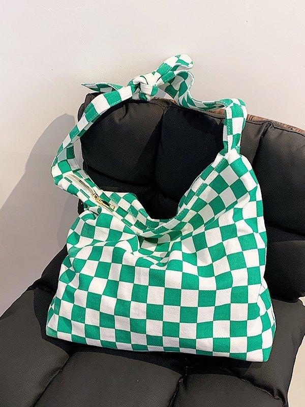 Checkerboard Shoulder Bag -