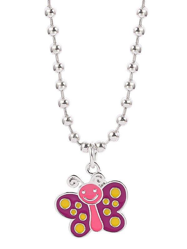 Colorblock Bee Necklace -