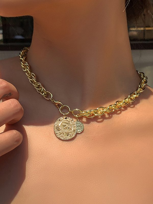 Avatar Necklace - Golden ONE SIZE