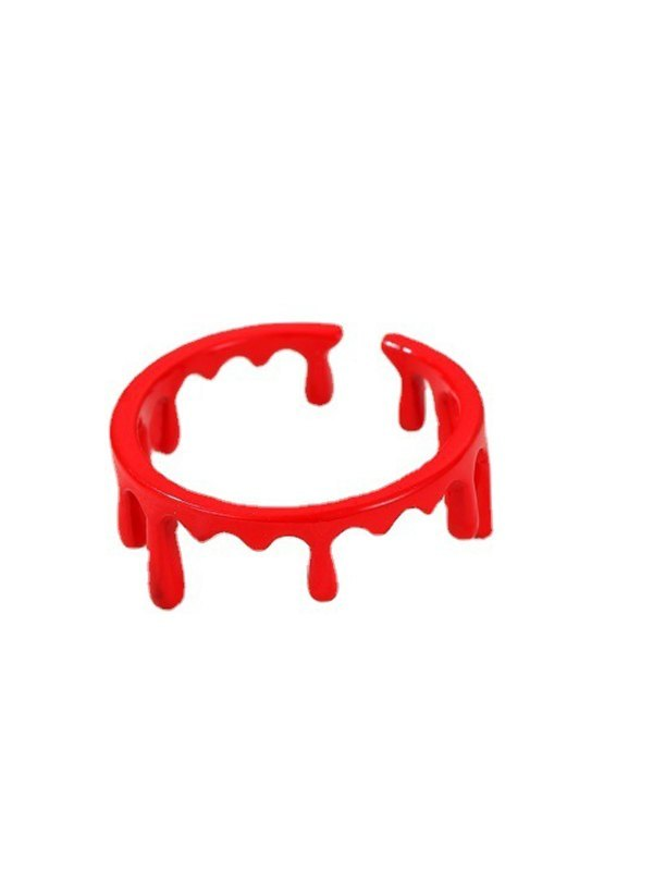 Halloween Blood Ring - Red ONE SIZE