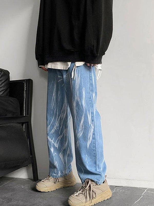Men's Washed Skate Jeans - Blue 2XL